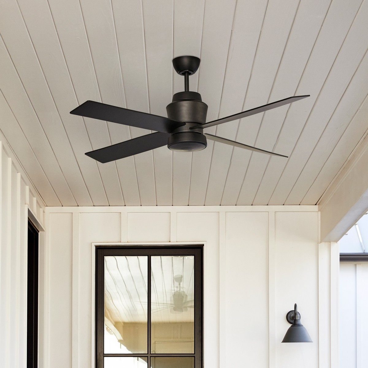 Most Recently Released Prologue Outdoor Ceiling Fan :: Stori Modern Inside Outdoor Ceiling Fans (View 8 of 20)