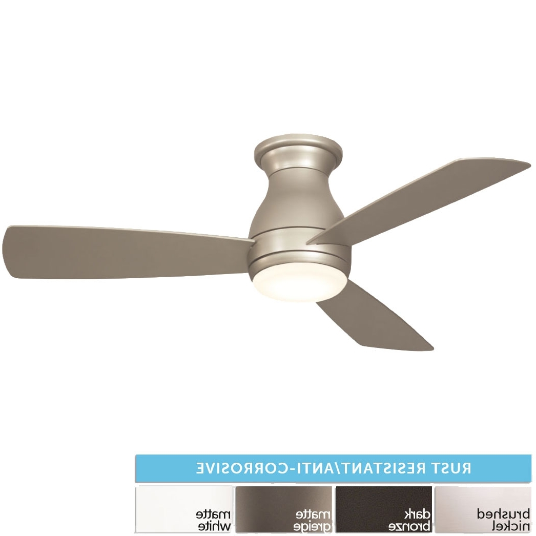 "Most Recently Released Rust Proof Outdoor Ceiling Fans Inside Fanimation Fps8332 Hugh Led Interior / Exterior 44"" Home Ceiling Fan (View 20 of 20)"