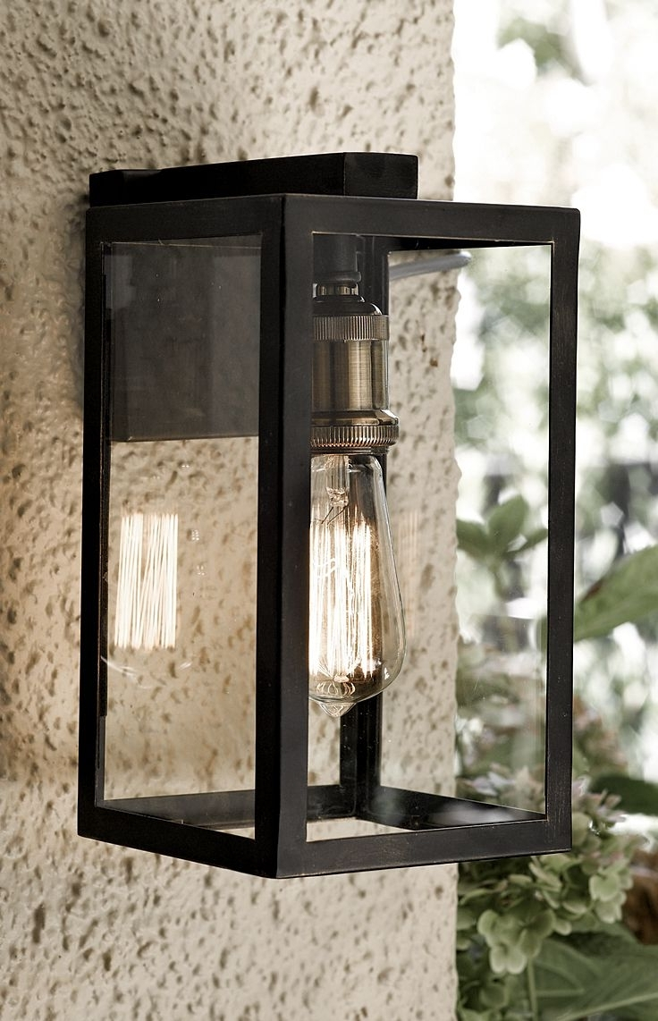 Most Recently Released Wall Mounted Lanterns Unusual Lights Outside Black Exterior Large With Outdoor Entrance Lanterns (View 6 of 20)