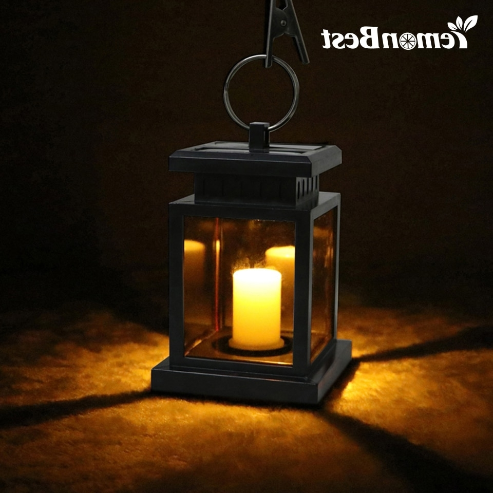 Most Recently Released Waterproof Flickering Flameless Solar Led Candle Light Outdoor With Outdoor Hanging Lanterns For Patio (View 18 of 20)