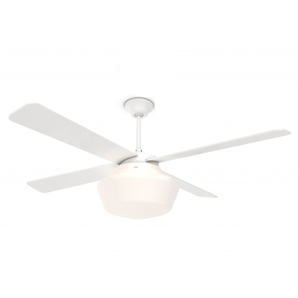 Most Up To Date Amazing Schoolhouse Ceiling Fan Gloss White 52 Eid Fans Outdoor In White Outdoor Ceiling Fans With Lights (View 10 of 20)