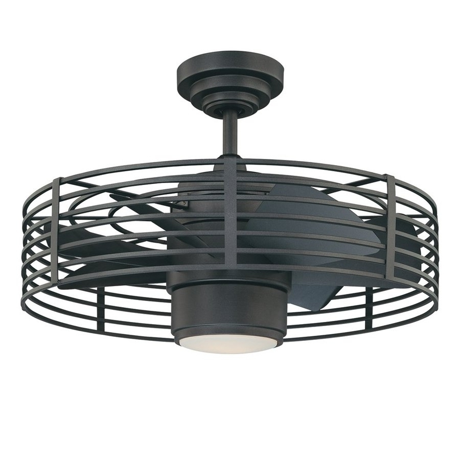 Most Up To Date Enclosed Outdoor Ceiling Fans Pertaining To Enclosed Ceiling Fan With Light (View 15 of 20)