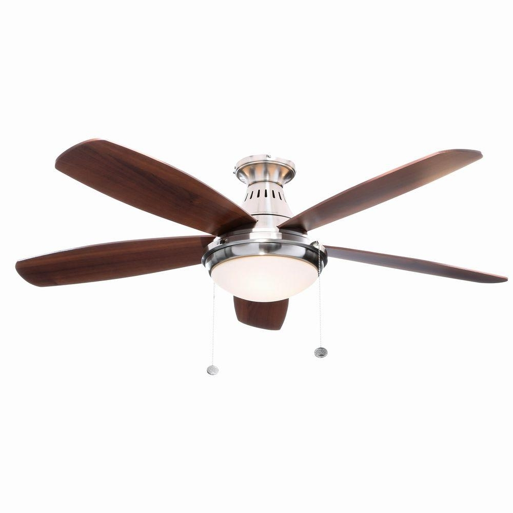 Most Up To Date Flush Mount Outdoor Ceiling Fans Pertaining To Flush Mount Outdoor Ceiling Fan With Light Flush Mount Outdoor (View 8 of 20)