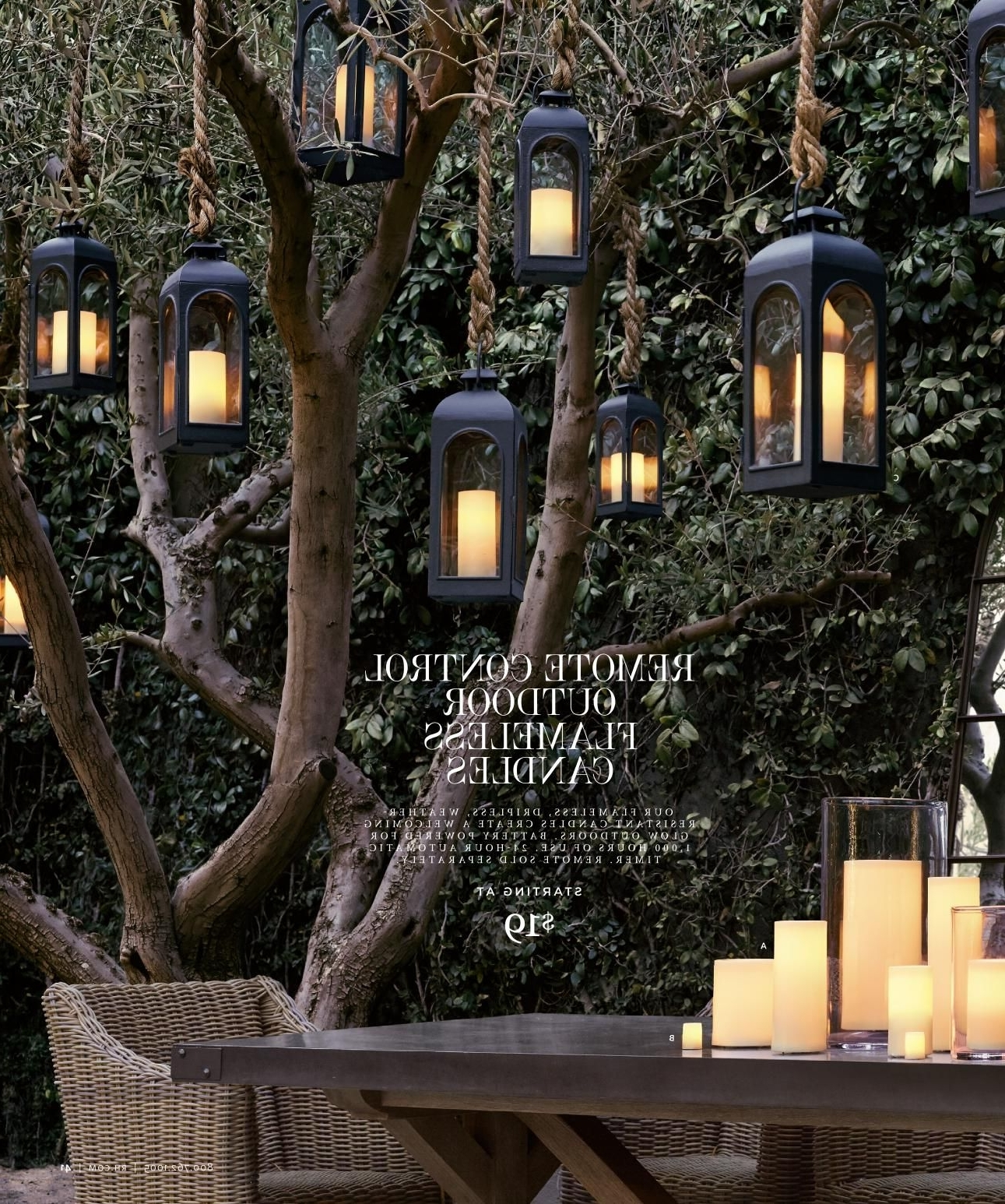 20 Best Ideas Outdoor Hanging Lanterns For Trees