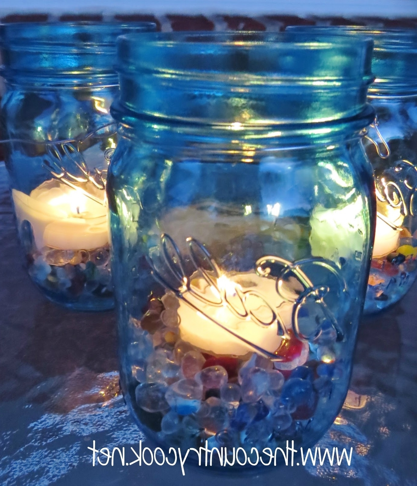 Most Up To Date Mason Jar Lanterns – The Country Cook Inside Outdoor Jar Lanterns (View 20 of 20)