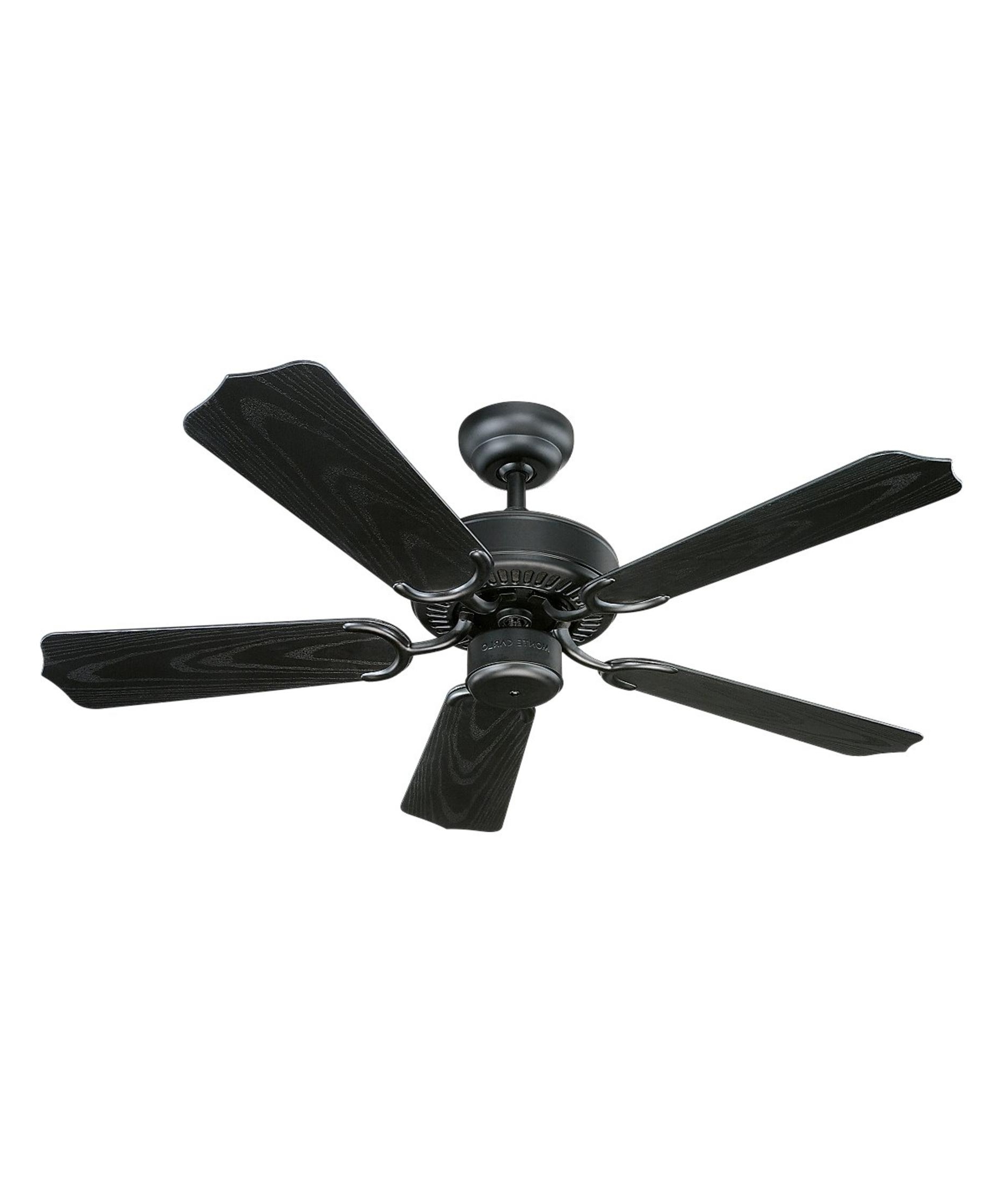 Most Up To Date Monte Carlo 5Wf42 Weatherford Ii 42 Inch 5 Blade Ceiling Fan Inside Quality Outdoor Ceiling Fans (View 13 of 20)