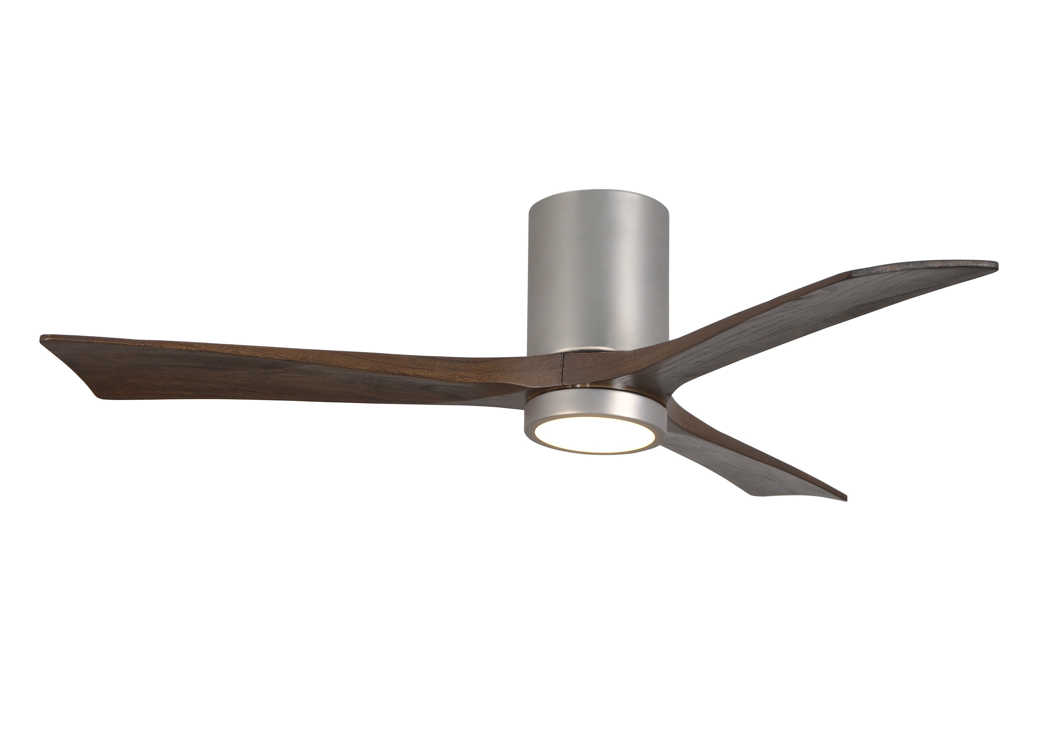 "Most Up To Date Outdoor Ceiling Fans Under $75 Intended For Wade Logan 52"" Rosalind 3 Blade Hugger Ceiling Fan With Wall Remote (View 9 of 20)"