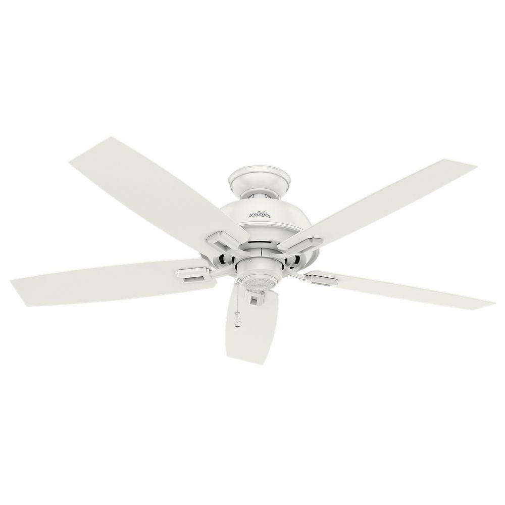 Most Up To Date Outdoor Ceiling Fans With Plastic Blades Intended For Hunter Donegan 52 In (View 11 of 20)