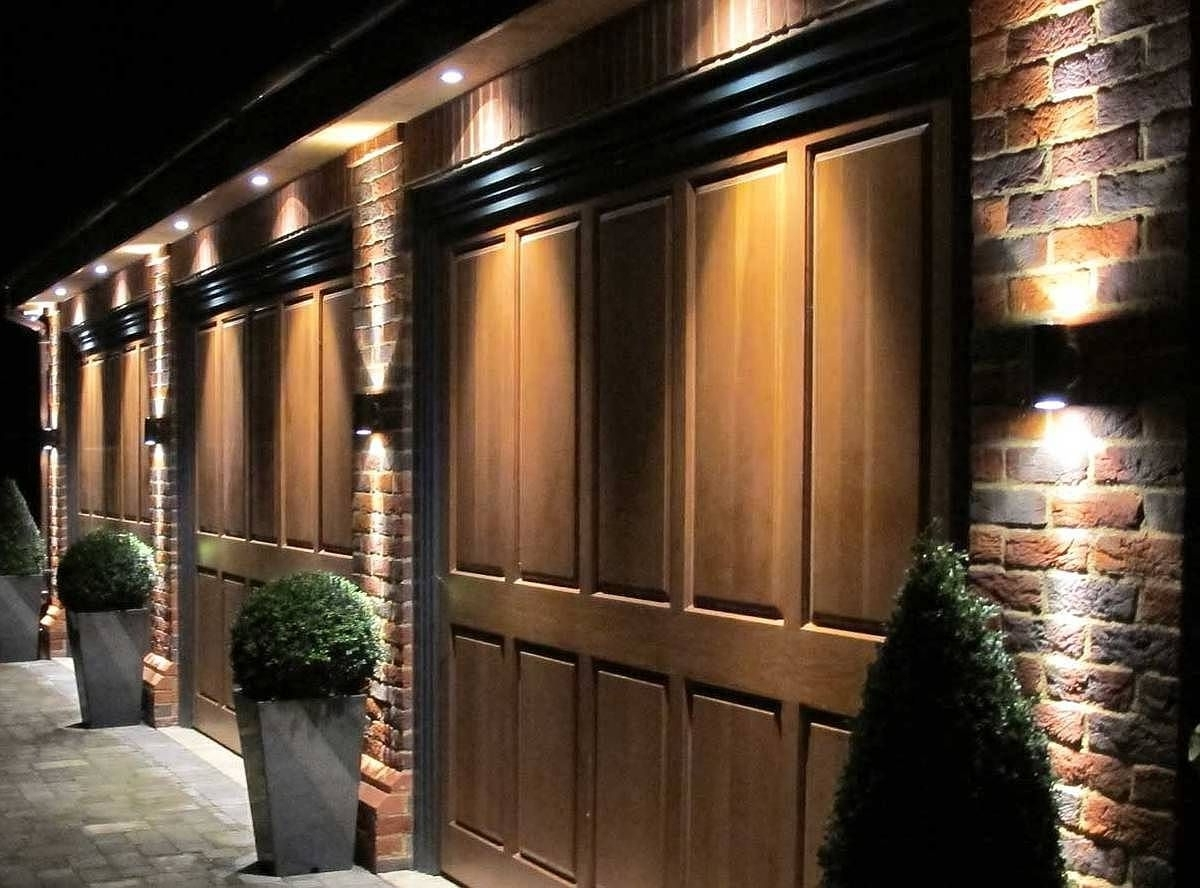 Most Up To Date Outdoor Door Lanterns With Regard To Best #garage Lighting Ideas (Indoor And Outdoor) – See You Car From (View 8 of 20)