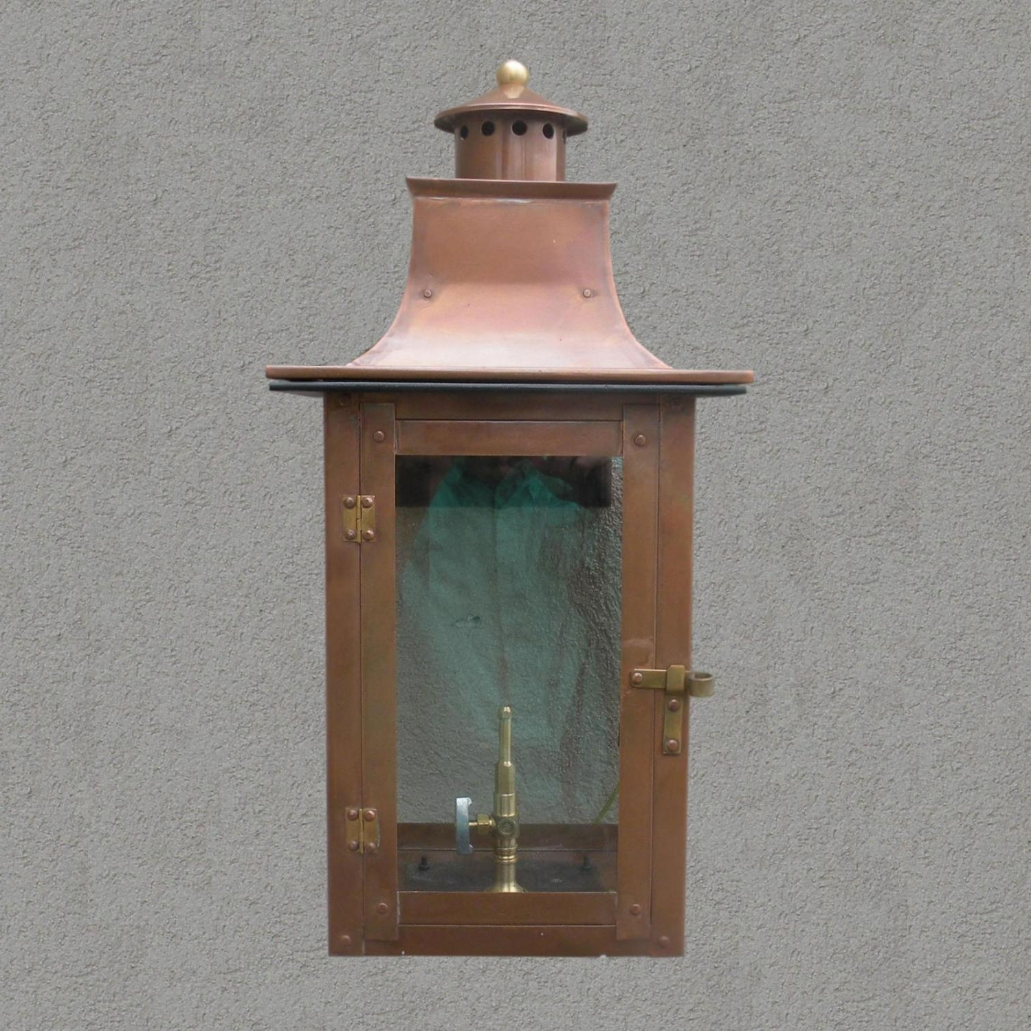 Most Up To Date Outdoor Gas Lanterns With Regard To Regency Gl21 Faye Rue Small Natural Gas Light With Open Flame Burner (View 8 of 20)