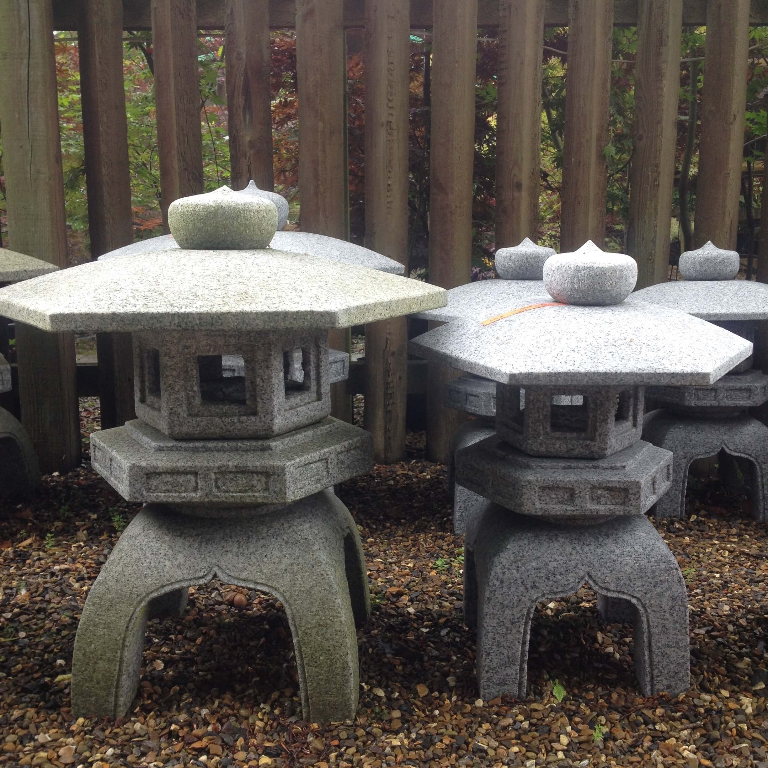 Most Up To Date Outdoor Japanese Lanterns Throughout Japanese Stone Lanterns Kyoto Range – Build A Japanese Garden Uk (View 20 of 20)