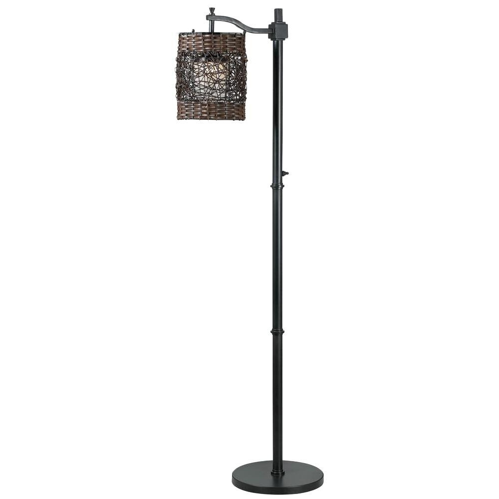 Most Up To Date Outdoor Lanterns On Stands Regarding Outdoor Floor Lamps – Outdoor Lamps – The Home Depot (View 10 of 20)