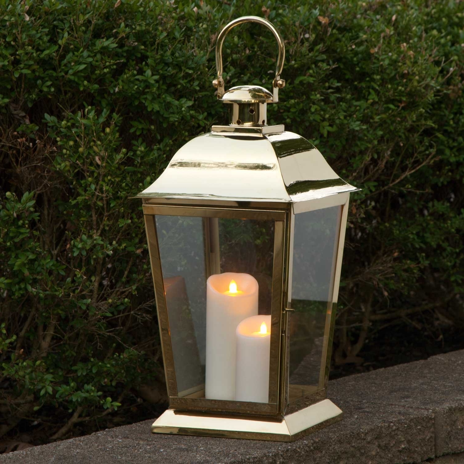 Most Up To Date Outdoor Lanterns With Battery Operated Candles Pertaining To Outdoor Candle Lanterns # (View 8 of 20)