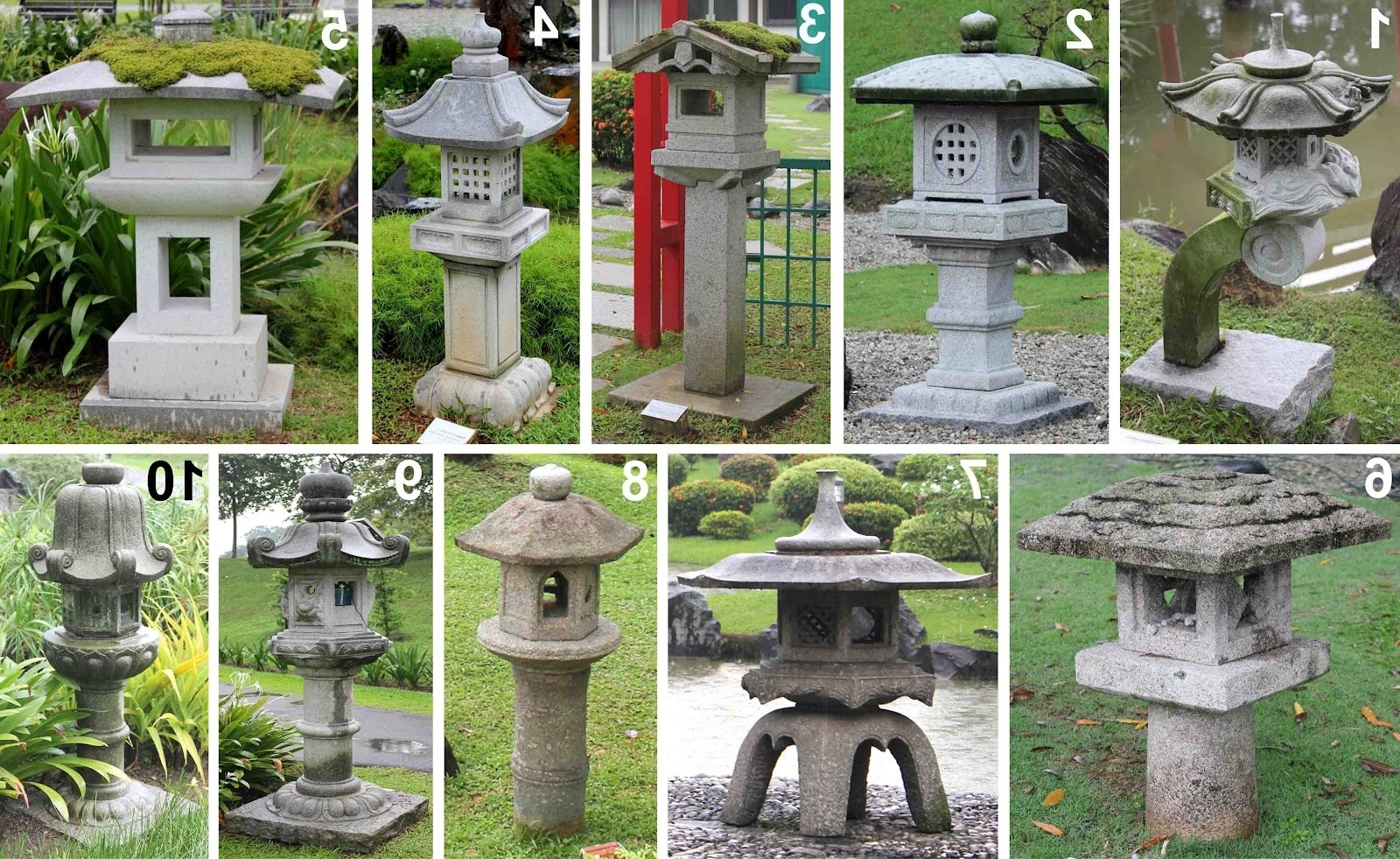 Most Up To Date Outdoor Oriental Lanterns Throughout Outdoor Japanese Lamp New Bonsai Skosh Stone Lanterns At Singapore (View 10 of 20)