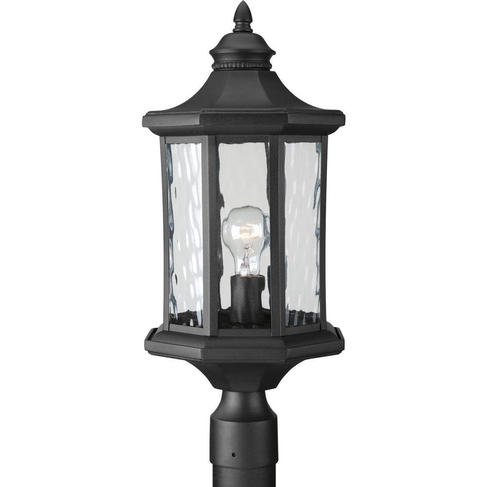 Most Up To Date Outdoor Post Lanterns With Regard To Post Light – Post Lighting – Outdoor Lighting – The Home Depot (View 10 of 20)