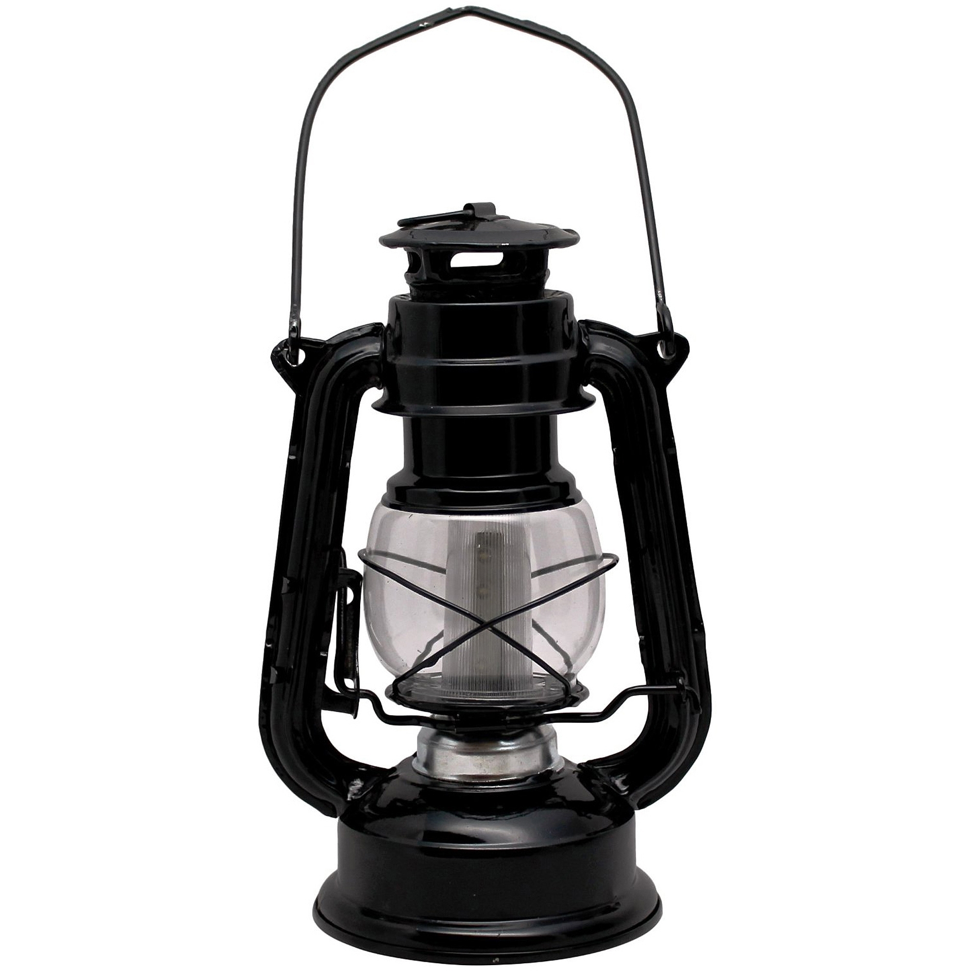 Most Up To Date Outdoor Railroad Lanterns In Sentry Railroad 12 Led Lantern, Black – Walmart (View 7 of 20)