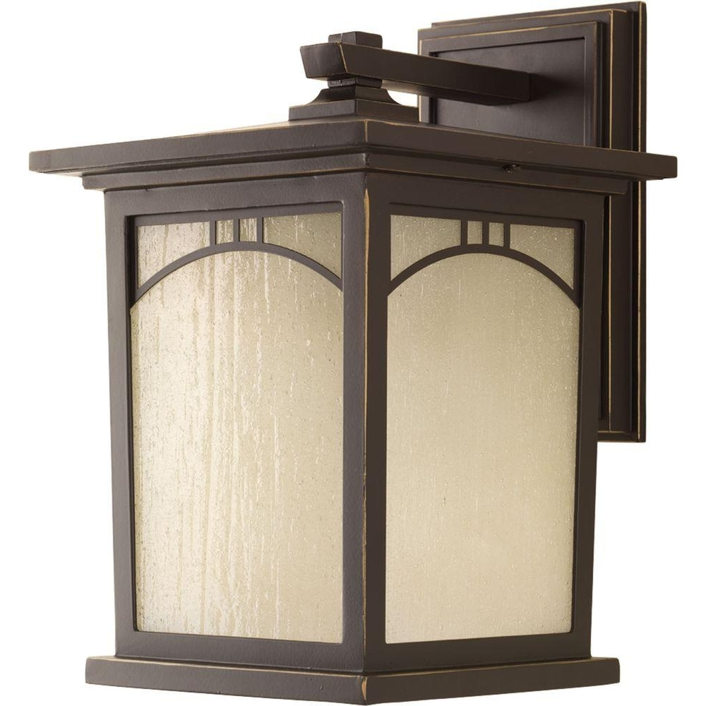 Most Up To Date Progress Lighting Residence Collection Light Outdoor Inch Antique With Regard To Outdoor Lanterns At Bunnings (View 6 of 20)