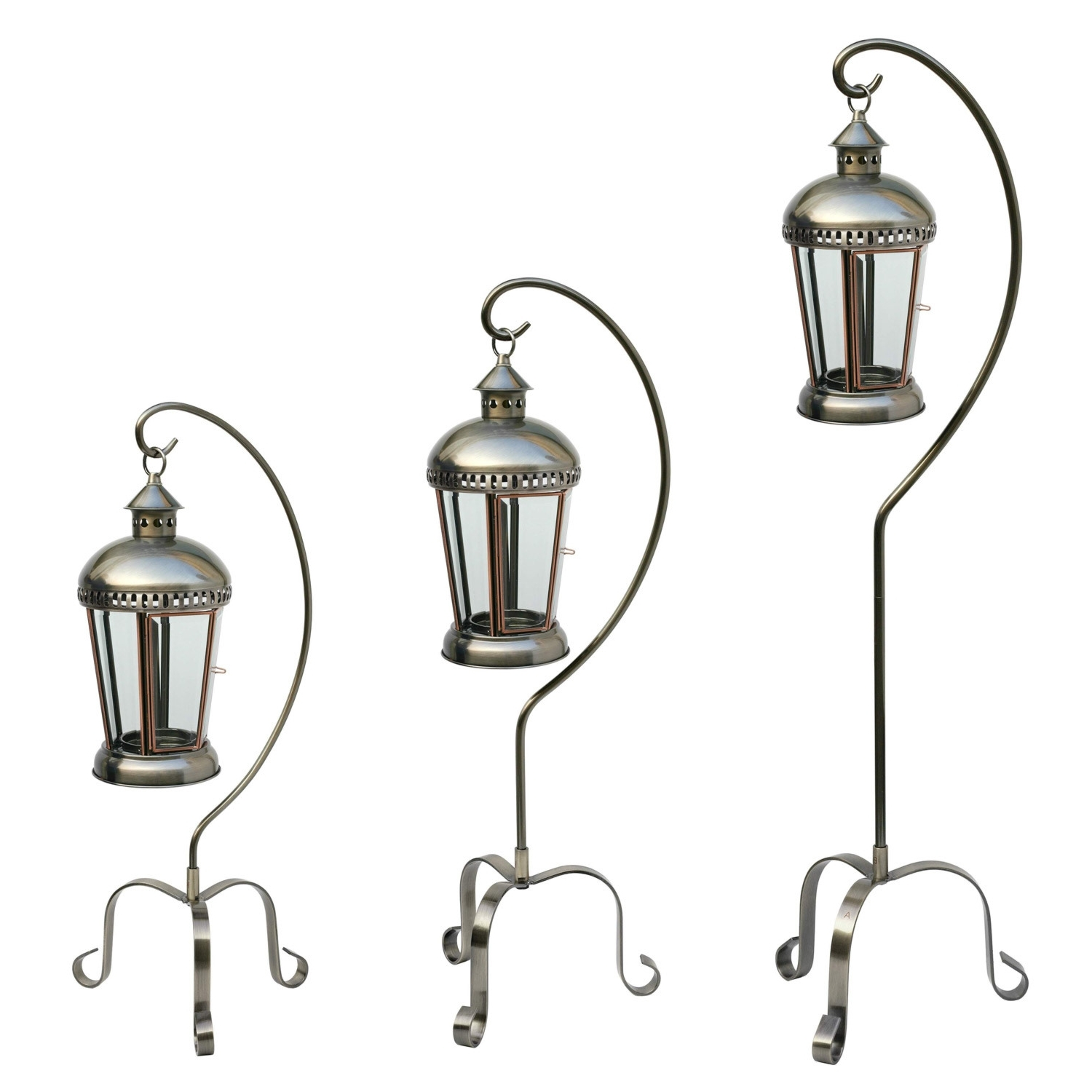Most Up To Date Set Of Three Lanterns In Set Of 3 Outdoor Lanterns (View 8 of 20)