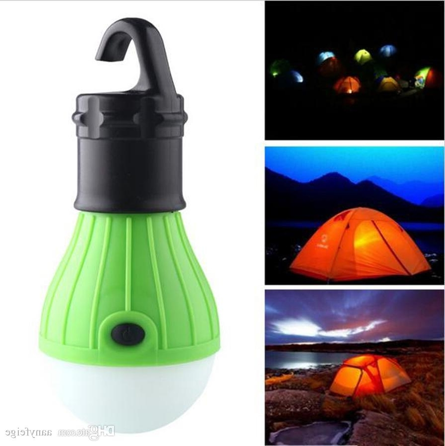 Most Up To Date Soft Light Outdoor Hanging Led Camping Tent Light Bulb Fishing Within Outdoor Lanterns With Led Lights (View 16 of 20)