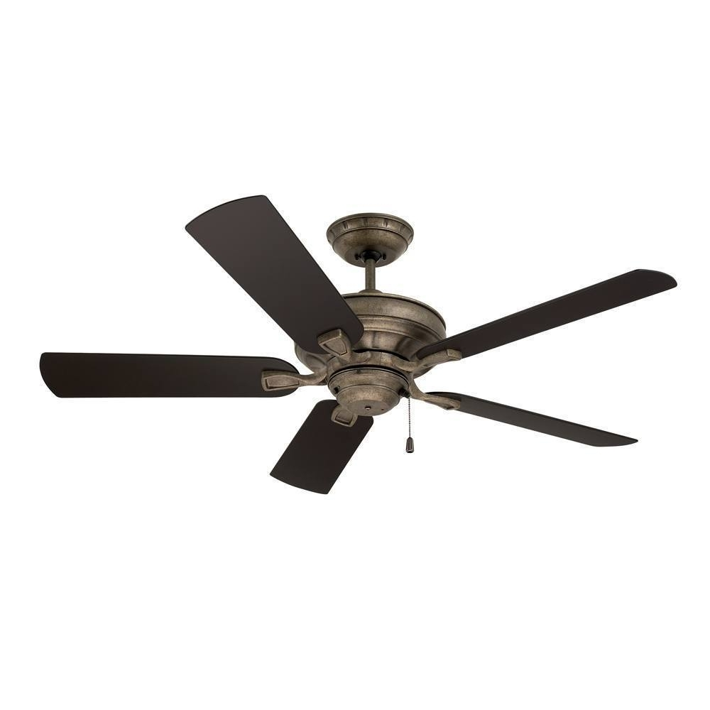 Most Up To Date Vintage Outdoor Ceiling Fans Regarding Shop Emerson Veranda 52 Inch Vintage Steel Traditional Indoor (View 8 of 20)
