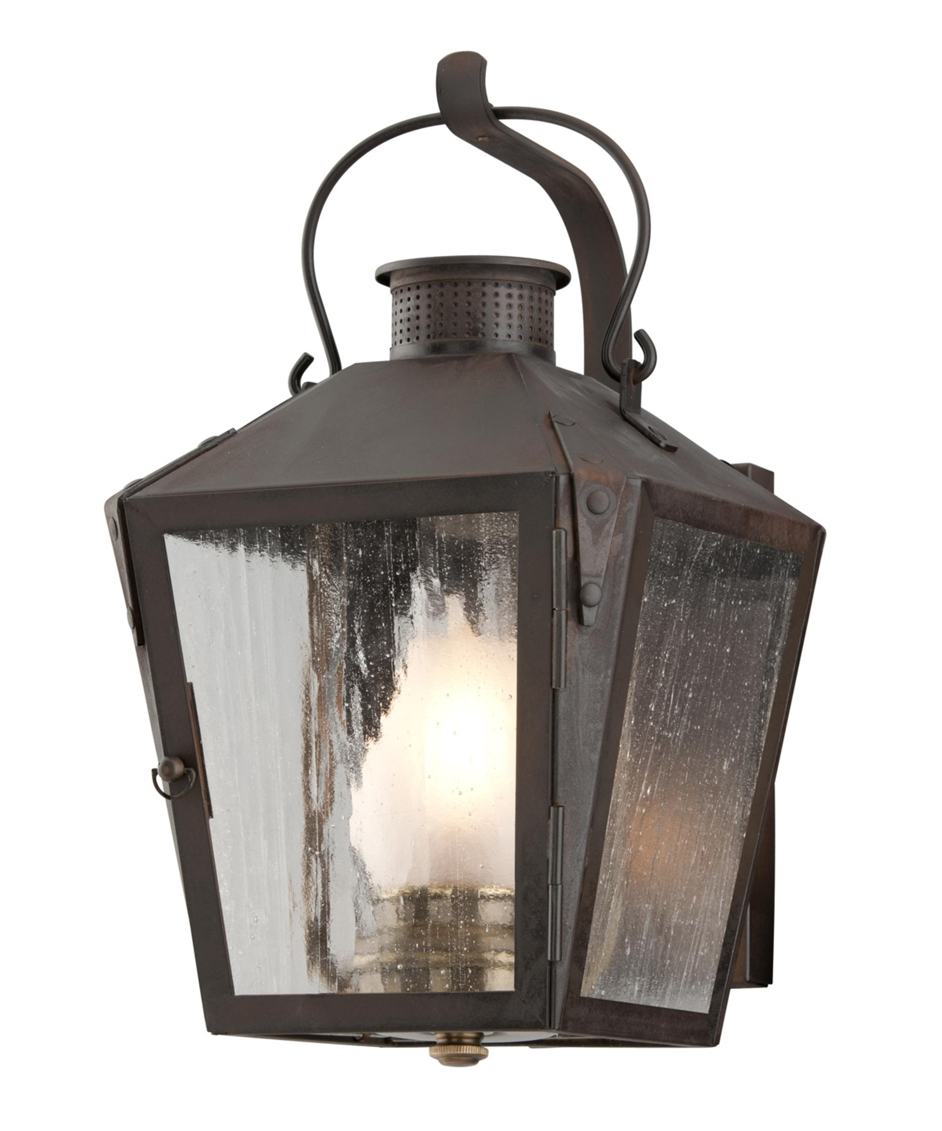 Nantucket Outdoor Lanterns Intended For Trendy Troy Lighting B3761 Nantucket 8 Inch Wide 1 Light Outdoor Wall Light (Gallery 2 of 20)