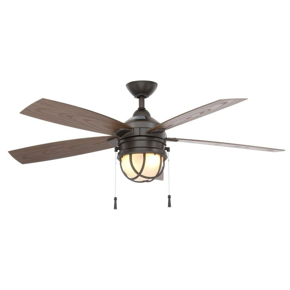 Nautical Outdoor Ceiling Fans Intended For 2018 Pineapple Outdoor Ceiling Fan (Gallery 7 of 20)