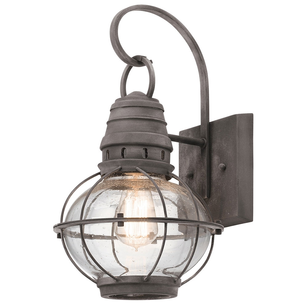 Nautical Outdoor Lighting Throughout Fashionable Outdoor Nautical Lanterns (View 13 of 20)
