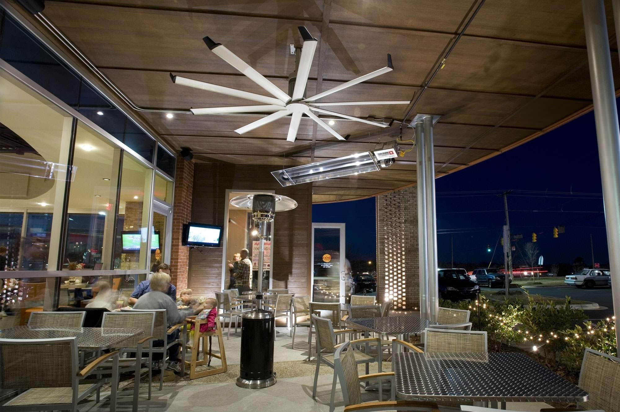Newest Hvls Ceiling Fans For Industries And Applications Of All Types From In Commercial Outdoor Ceiling Fans (View 20 of 20)