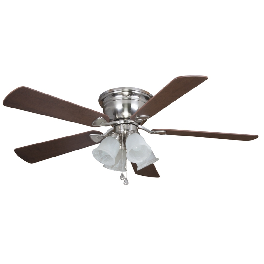Newest Ideas: Customize Your Ceiling Fan With Hunter Fan Light Kit Lowes With Regard To Outdoor Ceiling Fans With Cage (Gallery 15 of 20)