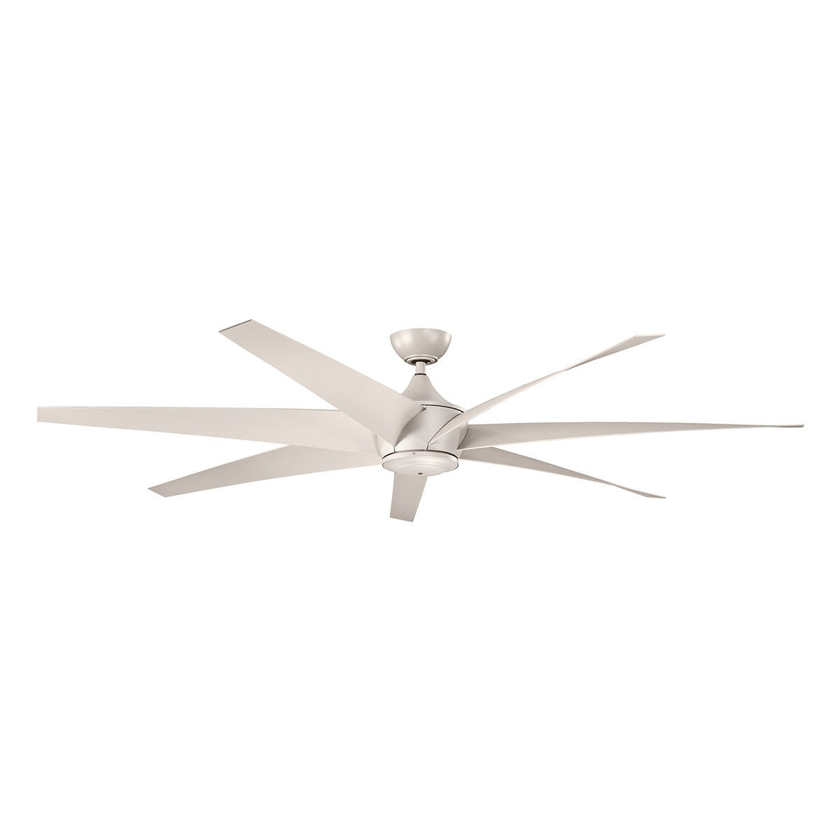 Newest Kichler 310115Ans Lehr 80 Inch Antique Satin Silver Outdoor Ceiling With Regard To Outdoor Ceiling Fans At Kichler (View 11 of 20)