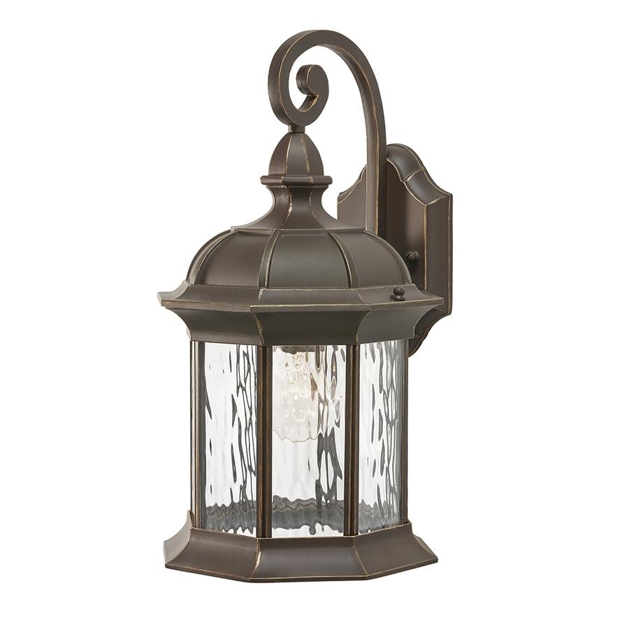 Newest Kichler Outdoor Lanterns Inside Shop Kichler Brunswick  (View 14 of 20)