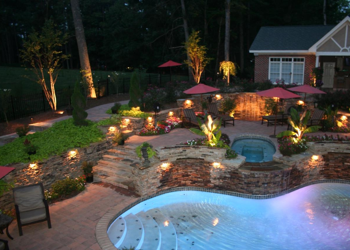 Newest Landscape Lighting Ma Massachusetts – Landscape Depot With Outdoor Lanterns For Poolside (View 9 of 20)
