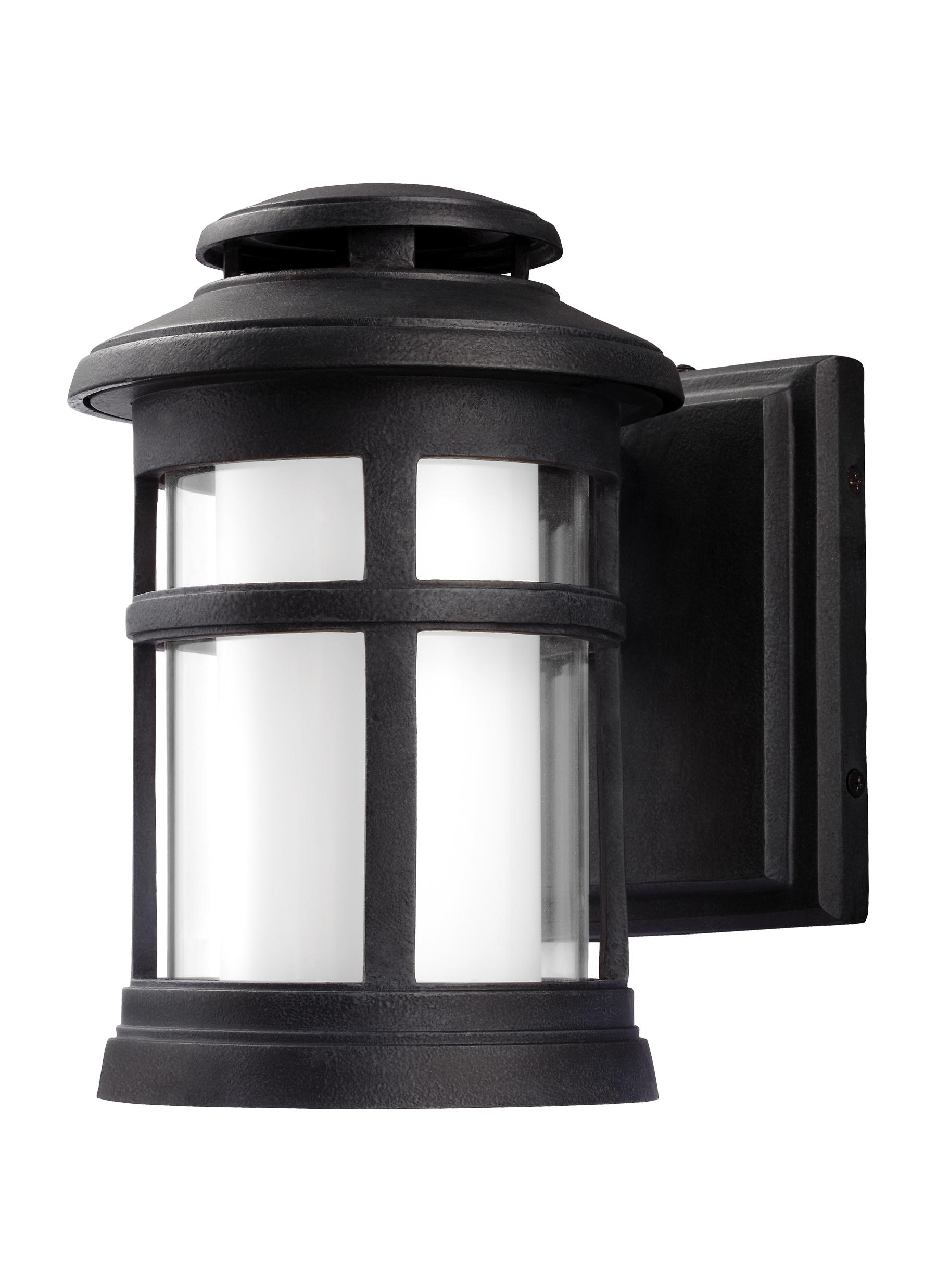 Newest Zinc Outdoor Lanterns For Ol12500Dwz Led,1 – Light Outdoor Wall Lantern,dark Weathered Zinc (Gallery 6 of 20)