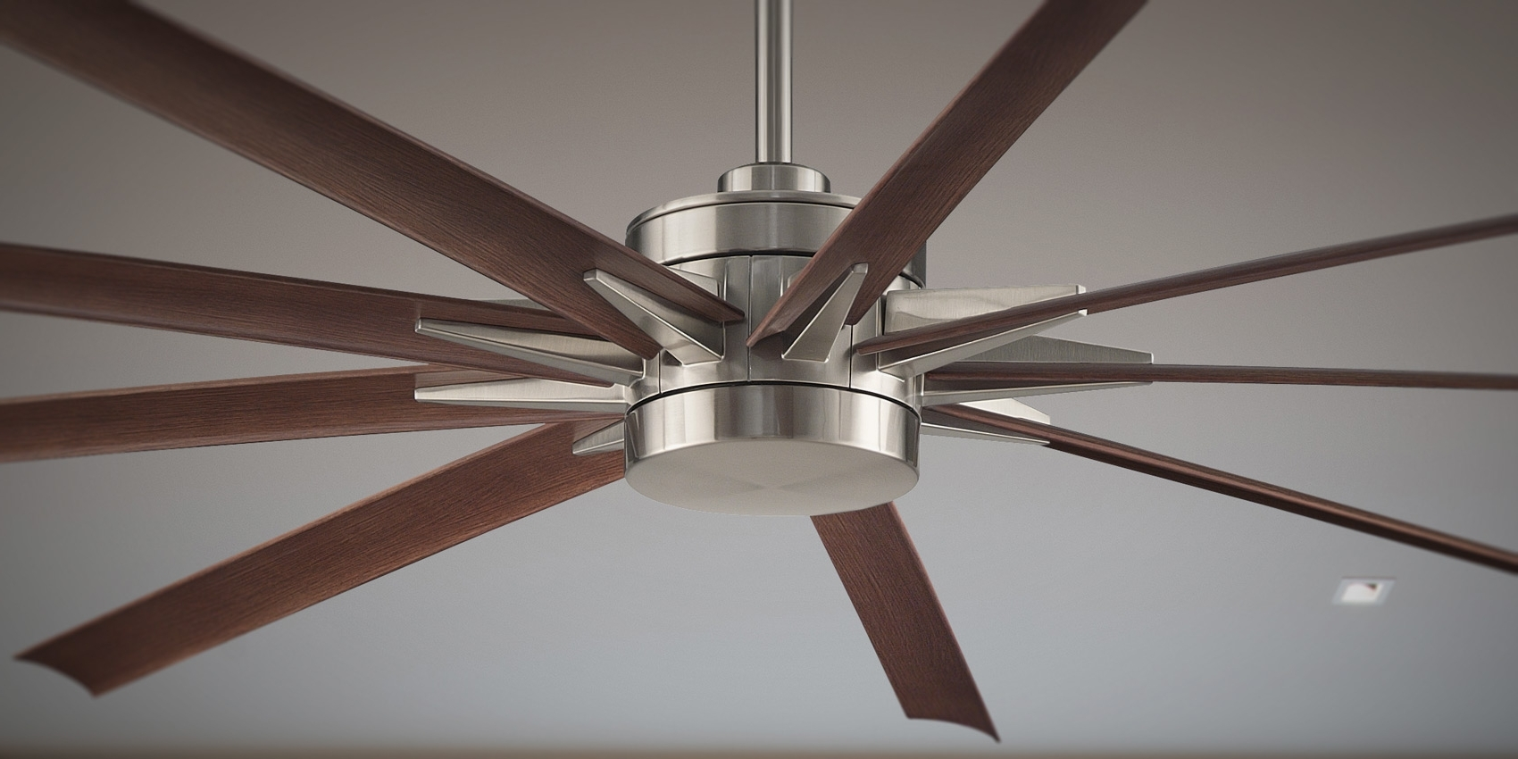 "Odyn 84"" Large Ceiling Fanfanimation Intended For Most Recently Released High Volume Outdoor Ceiling Fans (View 9 of 20)"