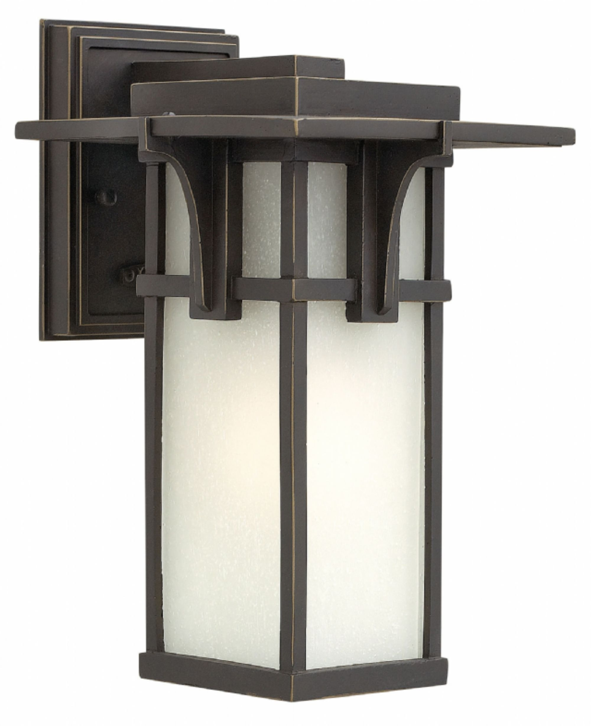 Oil Rubbed Bronze Manhattan > Exterior Wall Mount With Regard To Current Large Outdoor Wall Lanterns (View 17 of 20)