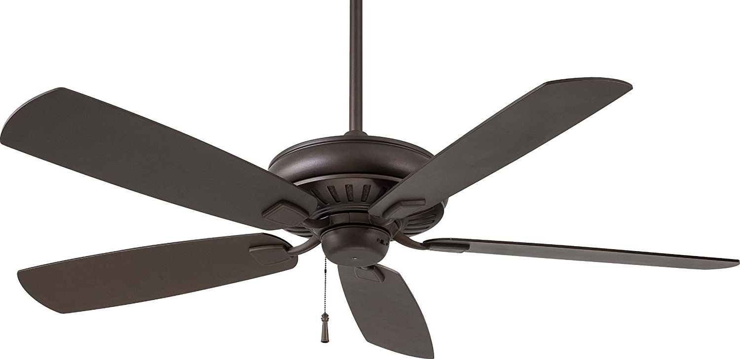 Oil Rubbed Bronze Outdoor Ceiling Fans Inside Most Recently Released Minka Aire Outdoor Ceiling Fan – Pixball (View 19 of 20)