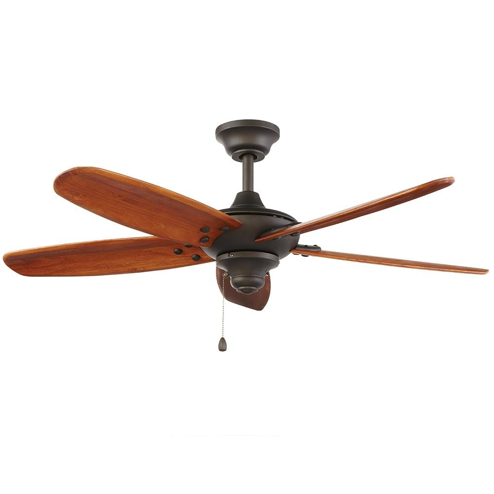 Oil Rubbed Bronze Outdoor Ceiling Fans Intended For Fashionable Home Decorators Collection Altura 48 In (View 4 of 20)