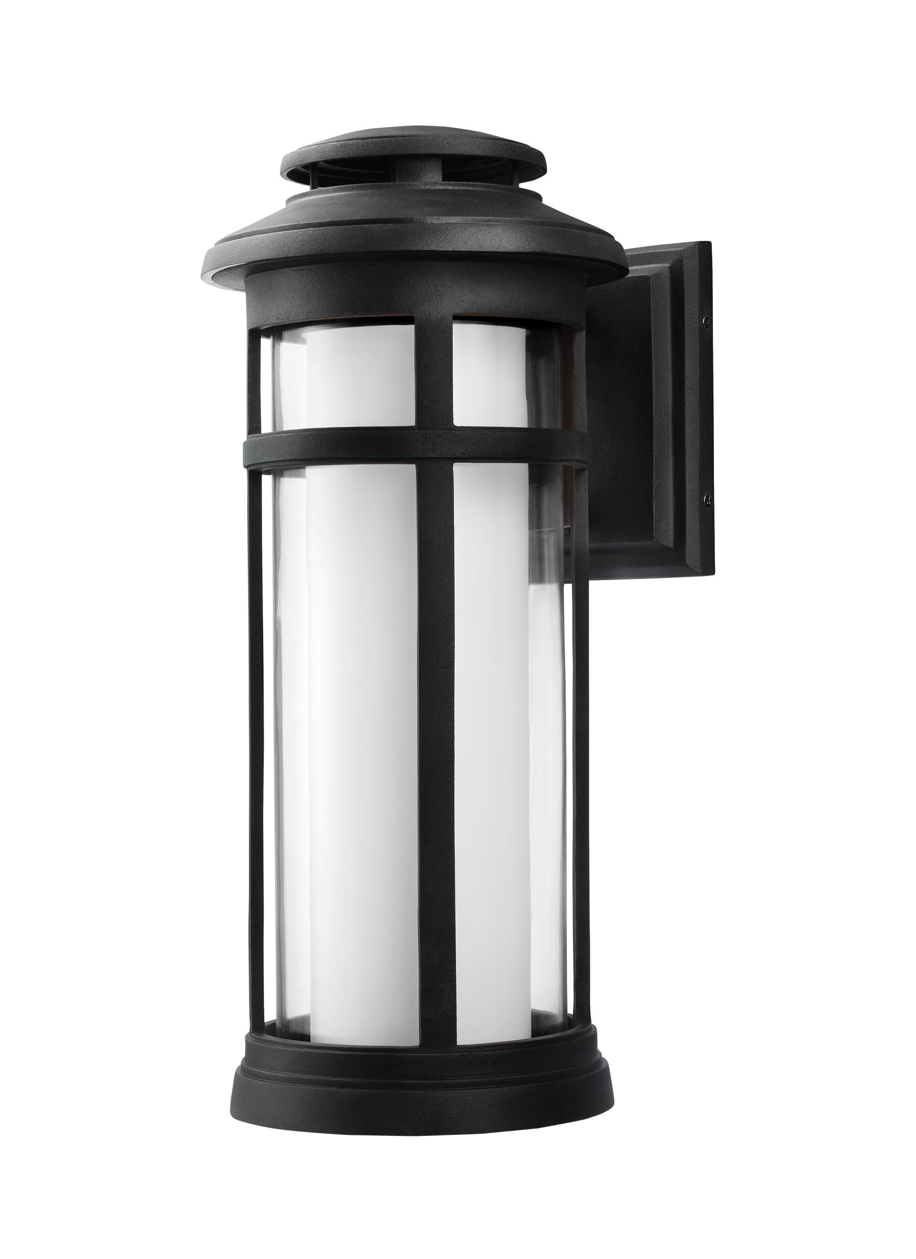 Ol12502Dwz Led,1 – Light Outdoor Wall Lantern,dark Weathered Zinc Inside Most Current Zinc Outdoor Lanterns (View 11 of 20)