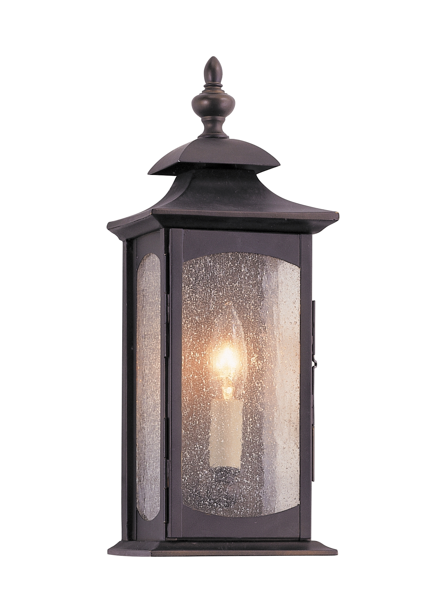 Ol2600Orb,1 – Light Wall Lantern,oil Rubbed Bronze For Trendy Outdoor Bronze Lanterns (Gallery 9 of 20)