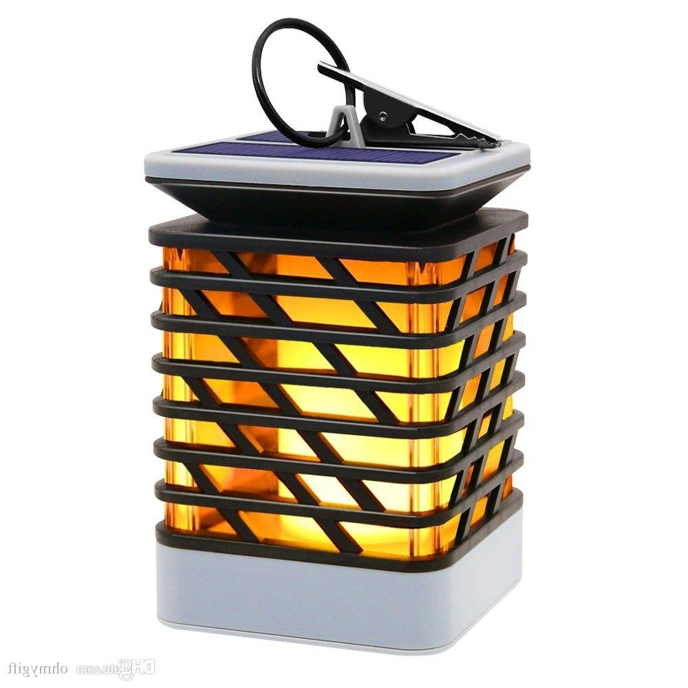 Online Cheap Solar Lights Outdoor Espier Led Flickering Flame Torch Inside Popular Outdoor Orange Lanterns (Gallery 13 of 20)