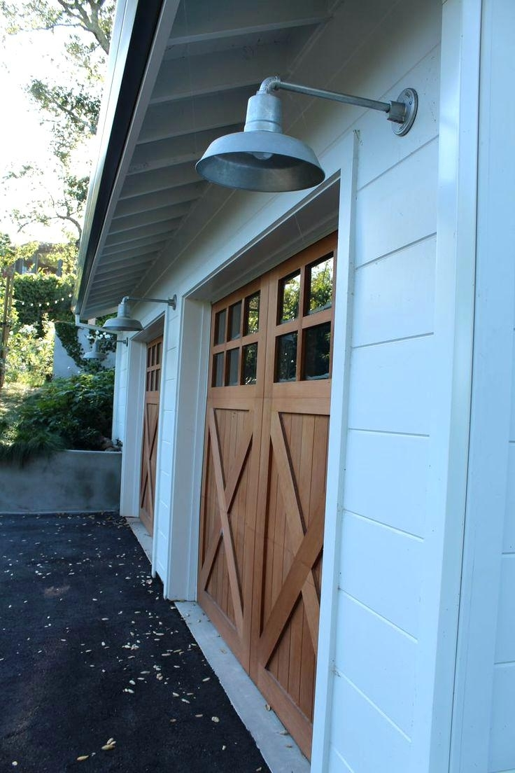 Originalviewsgarage Outdoor Lights Led Garage Costco – Venidami Pertaining To Best And Newest Outdoor Lanterns For Garage (View 11 of 20)