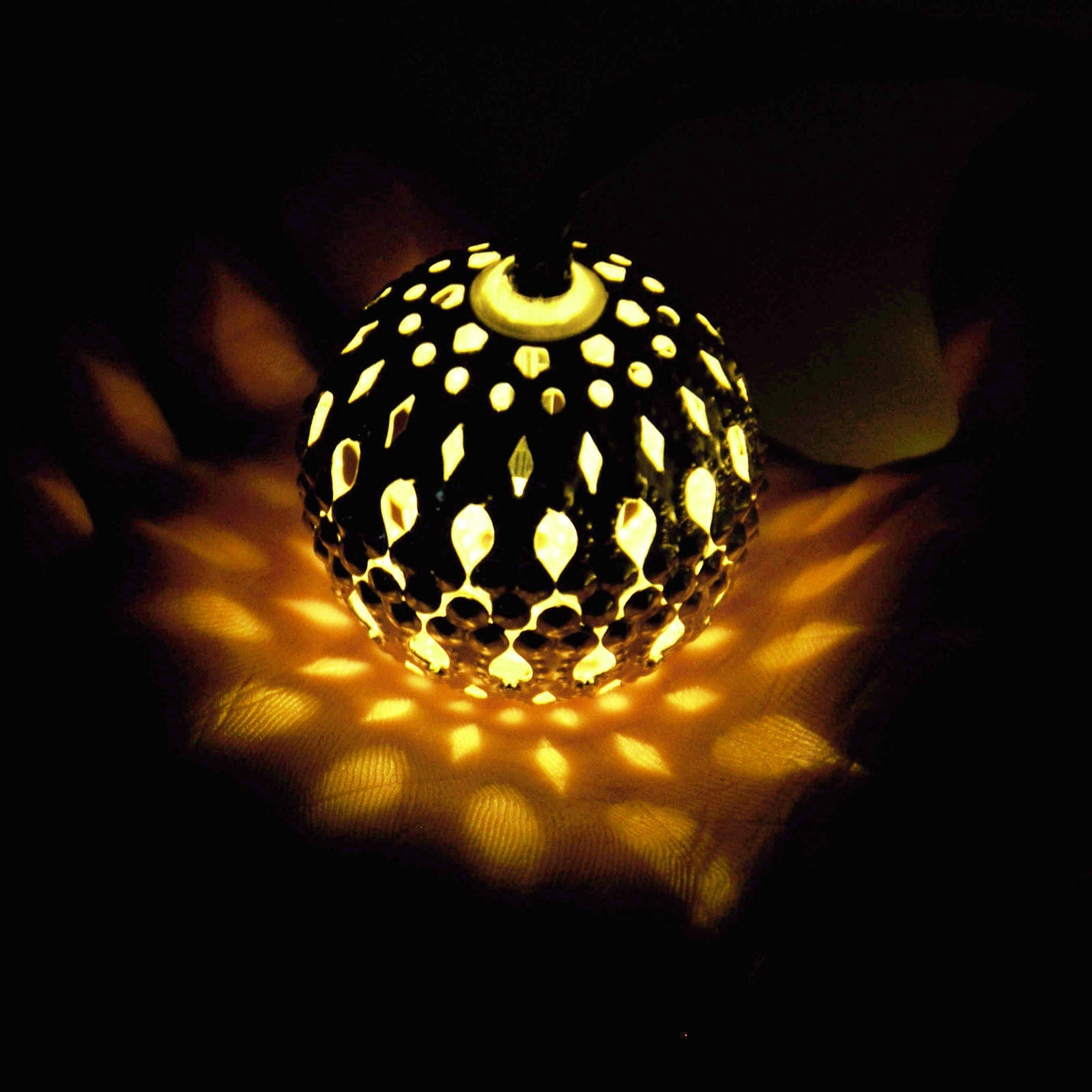 Outdoor Ball Lanterns Regarding Trendy Solar Globes Outdoor Modern Home Led String Lights Moroccan Metal (View 10 of 20)