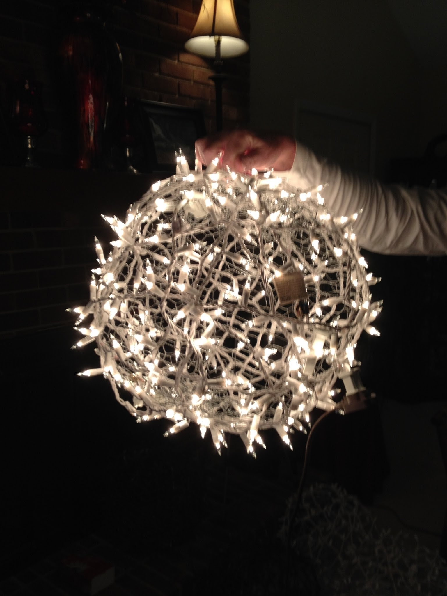 Outdoor Ball Lanterns Within Favorite Giant Lighted Christmas Balls – How To Hang Them On A Tree – Youtube (View 13 of 20)