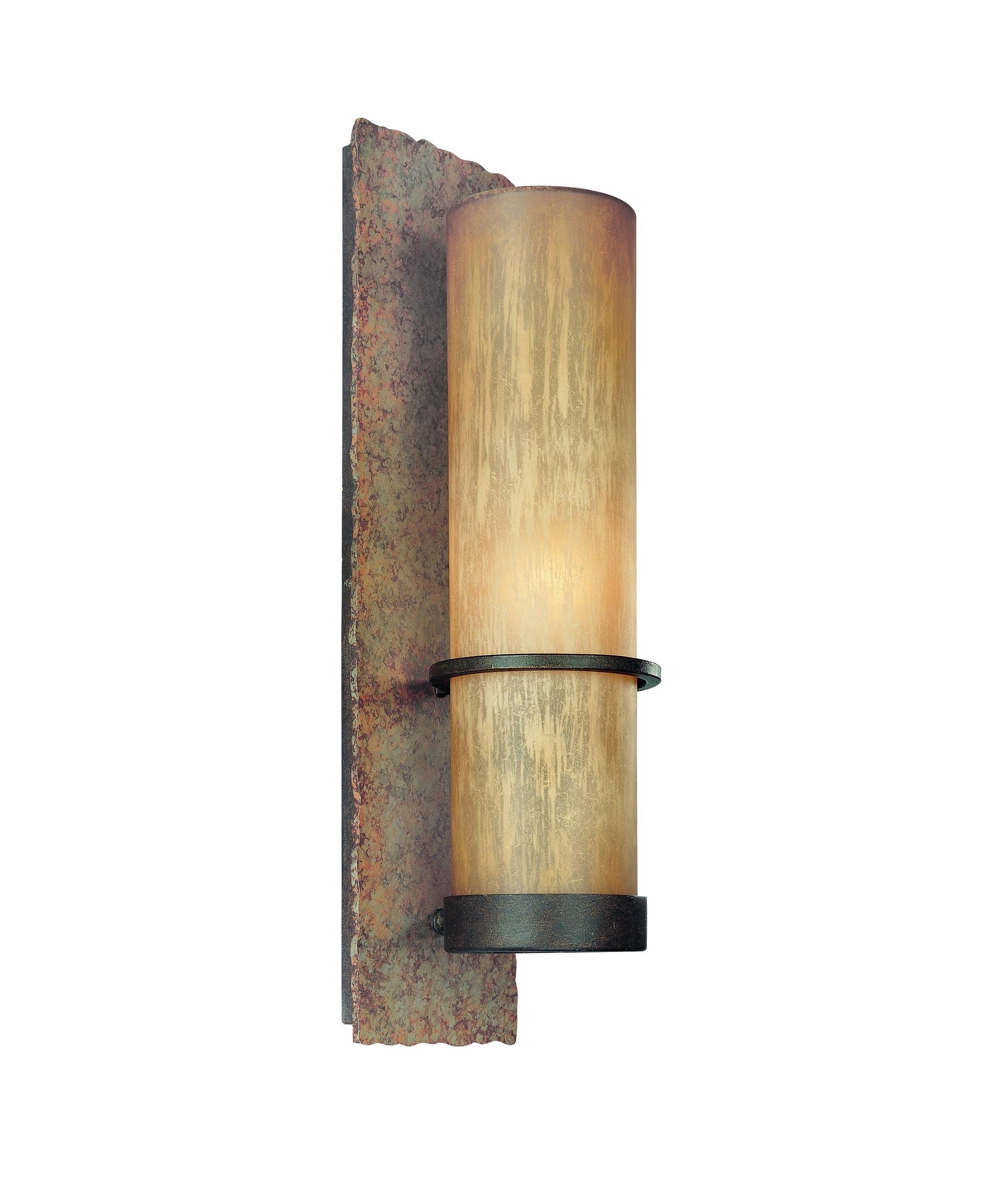 Outdoor Bamboo Lanterns With Trendy Troy Lighting B1852 Bamboo 6 Inch Wide 1 Light Outdoor Wall Light (View 13 of 20)