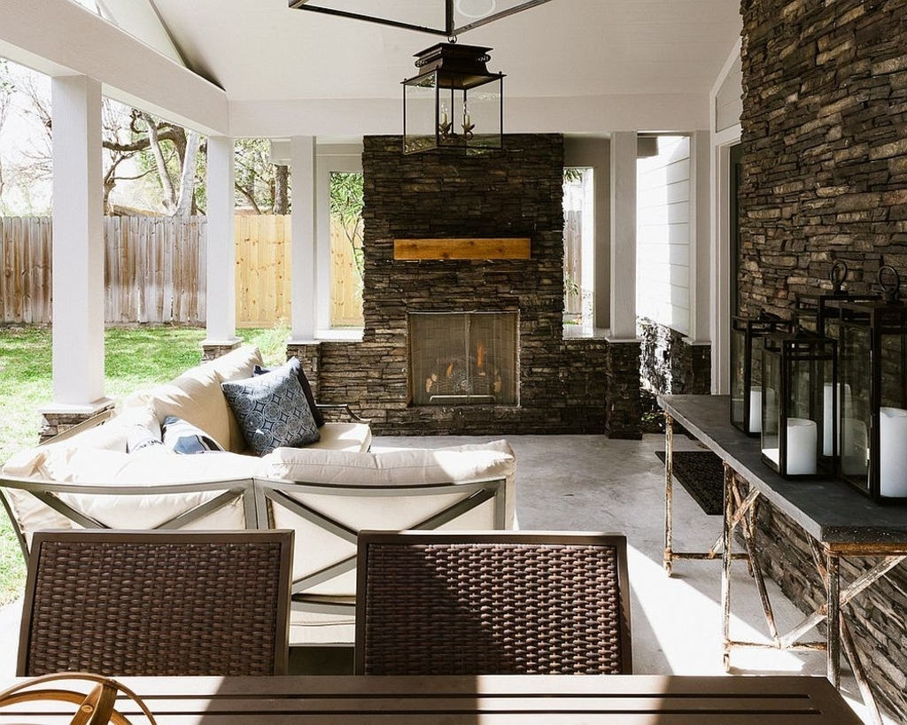 Outdoor Big Lanterns With Most Recently Released Lighting: Multi Colored Lanterns Make A Big Statement In This Narrow (View 6 of 20)