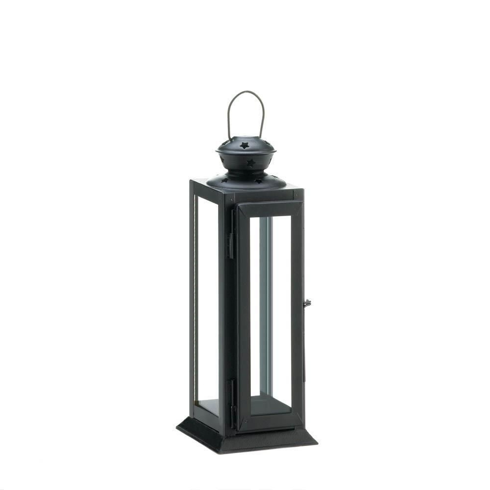 Outdoor Candle Lanterns For Patio Pertaining To Most Current Metal Candle Lantern, Outdoor Patio Candle Lanterns Metal Candle (Gallery 11 of 20)