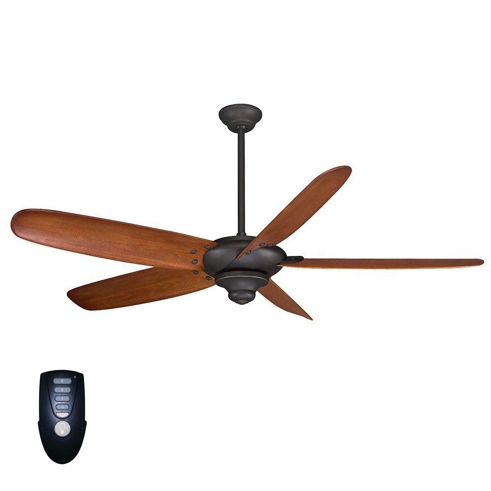 Outdoor Ceiling Fan No Electricity For Most Recently Released Home Decorators Collection Altura 68 In (View 12 of 20)