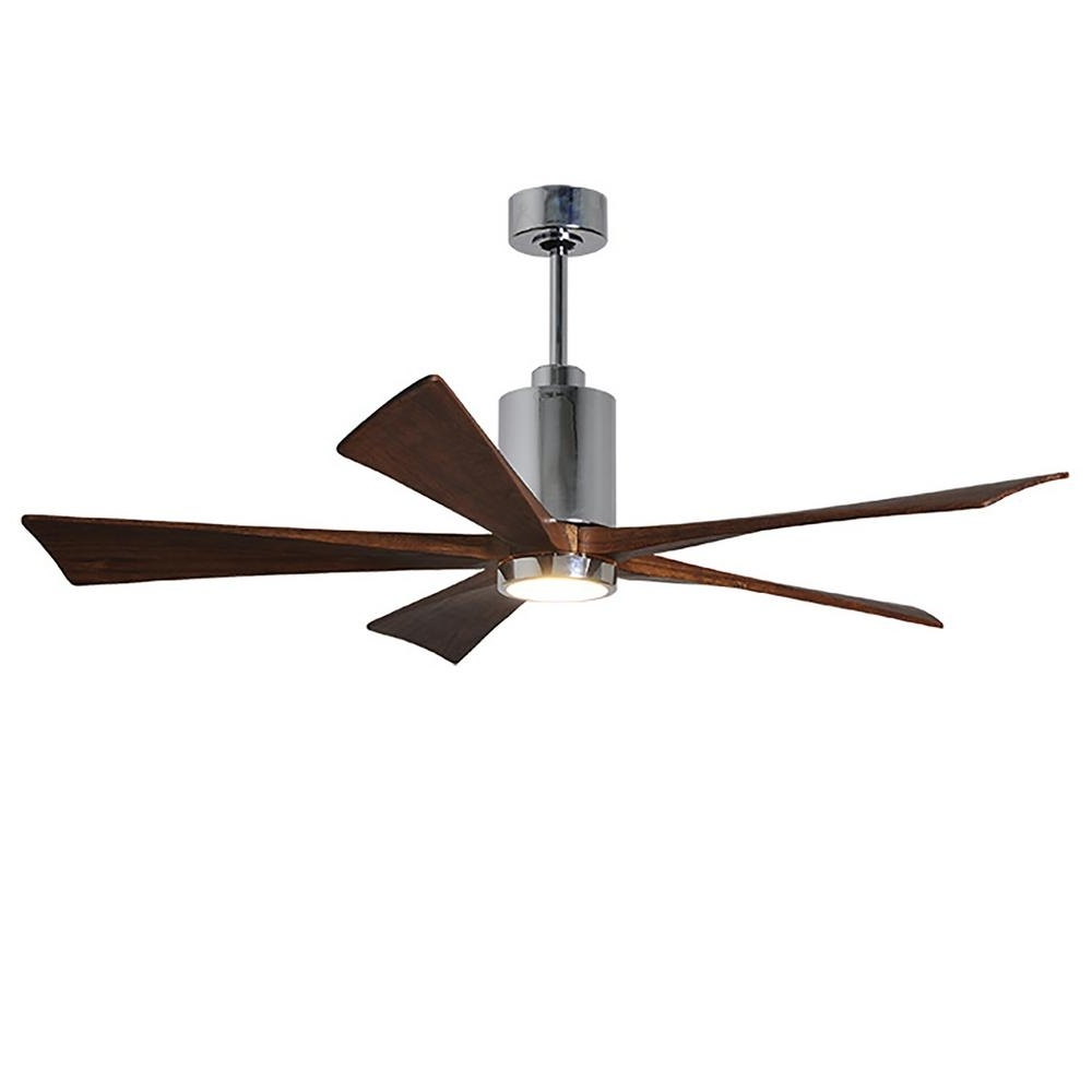Outdoor Ceiling Fan With Brake With Regard To Trendy Wet Rated – Ceiling Fans – Lighting – The Home Depot (View 9 of 20)