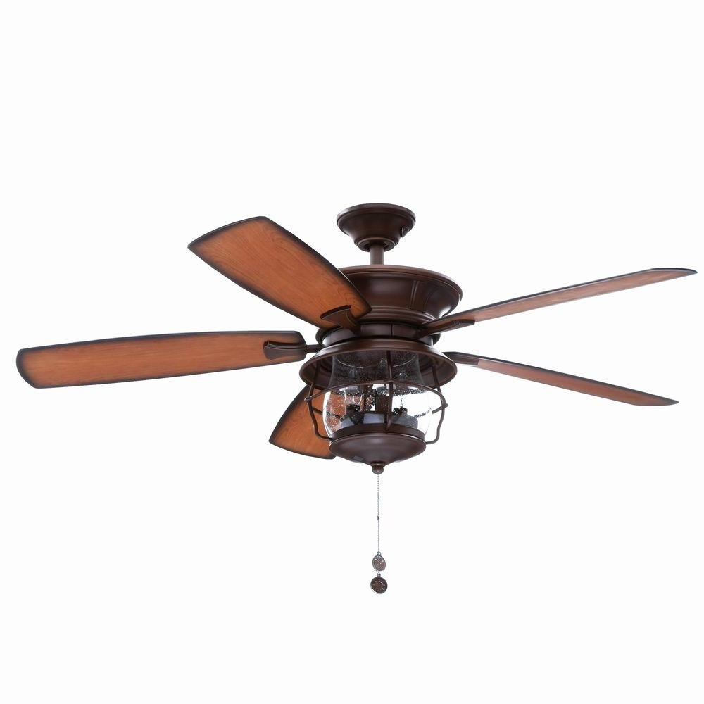 Outdoor Ceiling Fans And Lights With Famous Westinghouse Brentford 52 In (View 17 of 20)