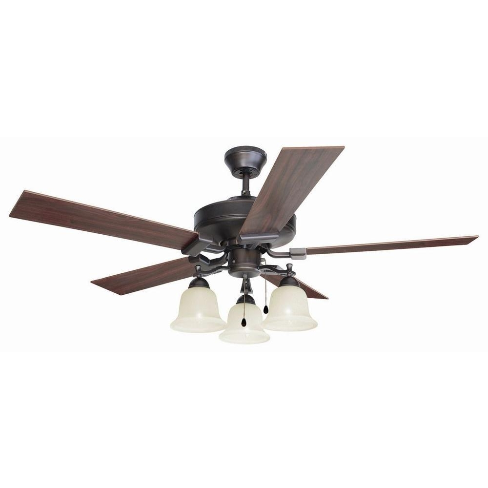 Outdoor Ceiling Fans At Amazon Within Well Liked Design House Ironwood 52 In (View 11 of 21)